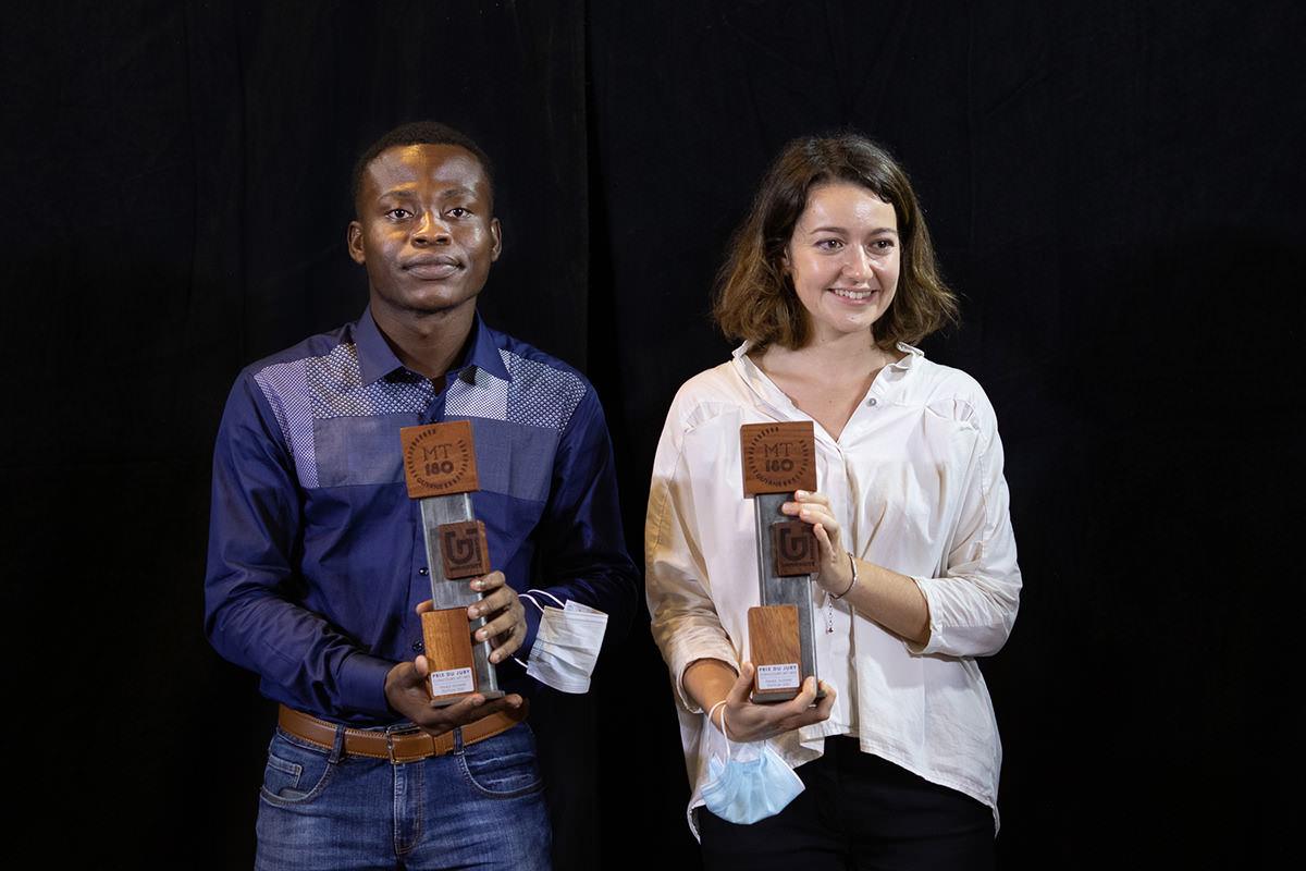 Marion et Wilfried demi-finalistes du concours MT180S