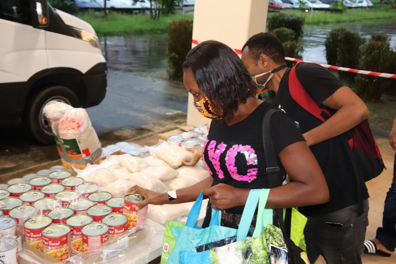 Nouvelle distribution de paniers repas pour les étudiants