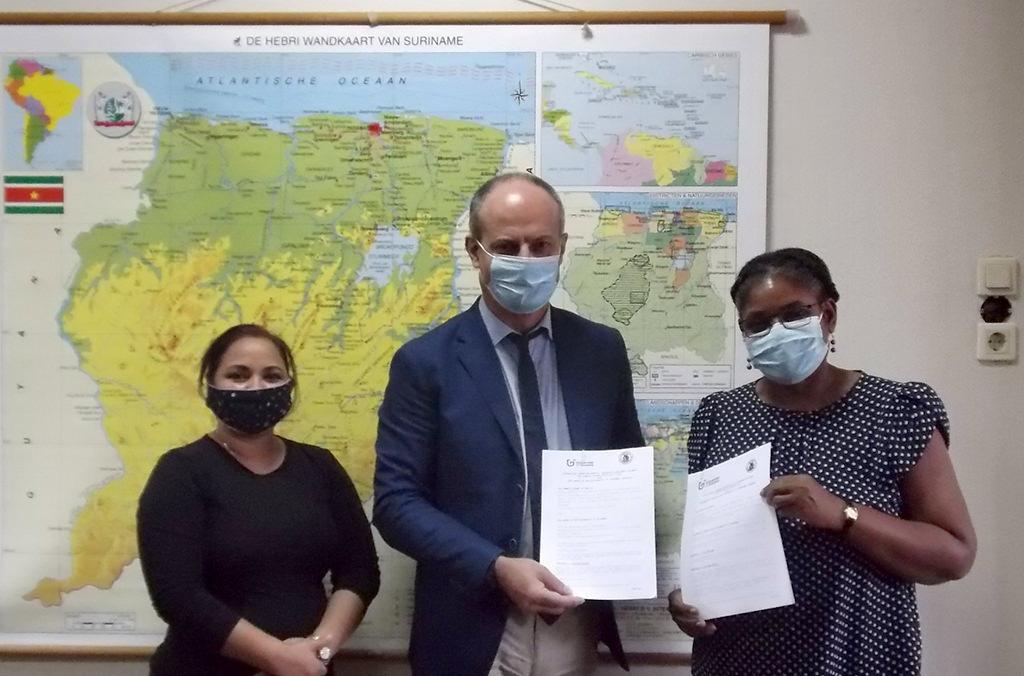 Partenariat renouvelé entre l'Université de Guyane et l'Université Anton de Kom du Suriname