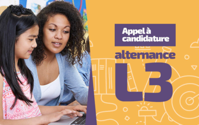 Le dispositif L3 en alternance 2019-2020