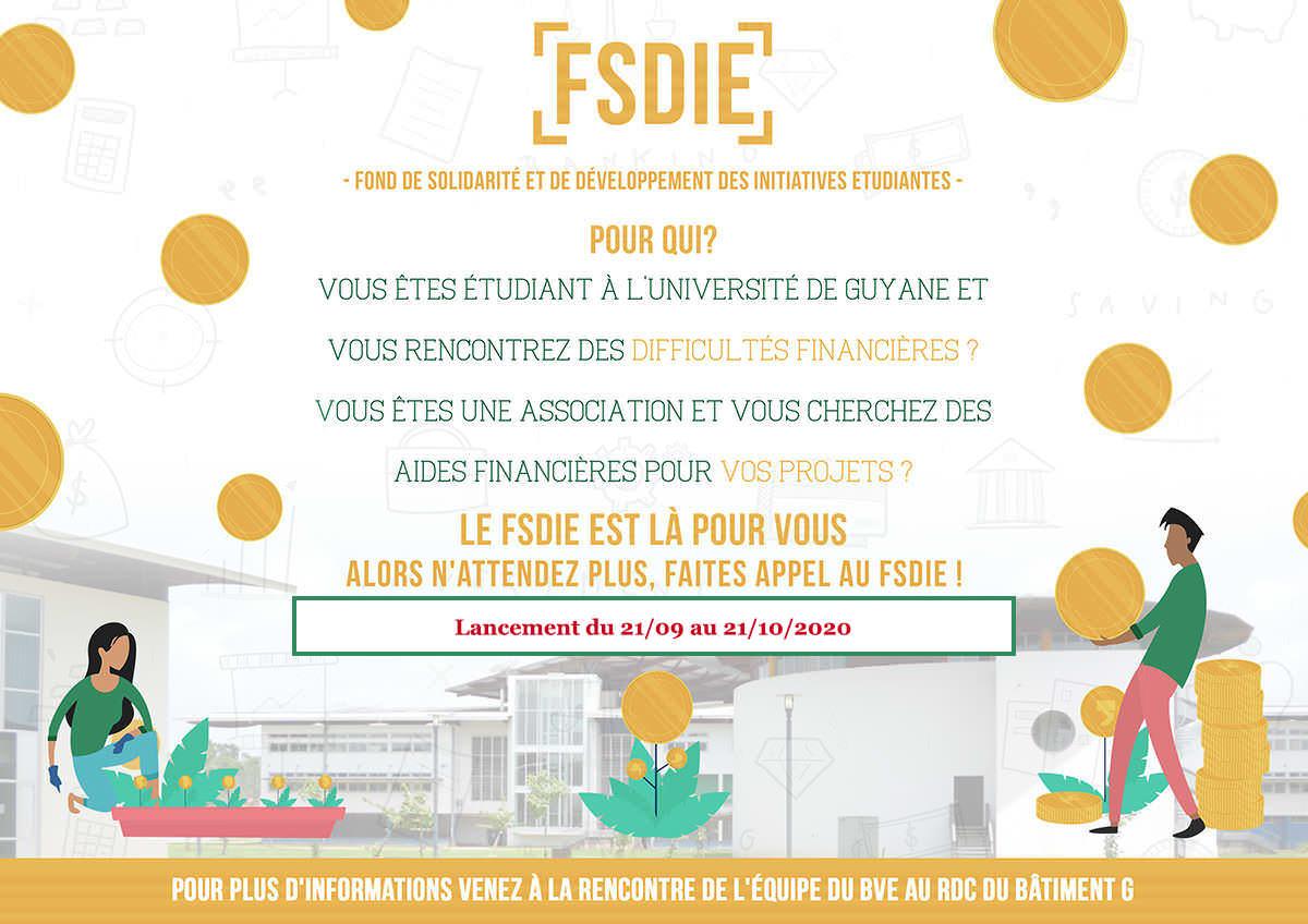 Campagne FSDIE sept/oct. 2020