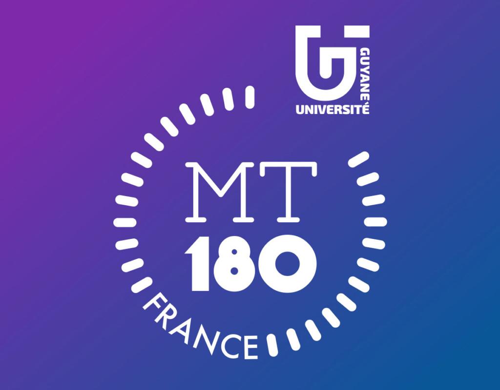 Concours Ma thèse en 180 secondes 2021 - Finale régionale Guyane. Université de Guyane