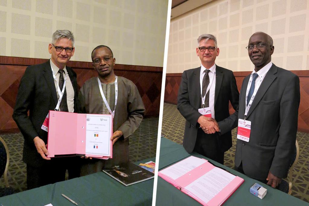 conventions cadres entre l'université de Guyane et 2 universités du Sénégale