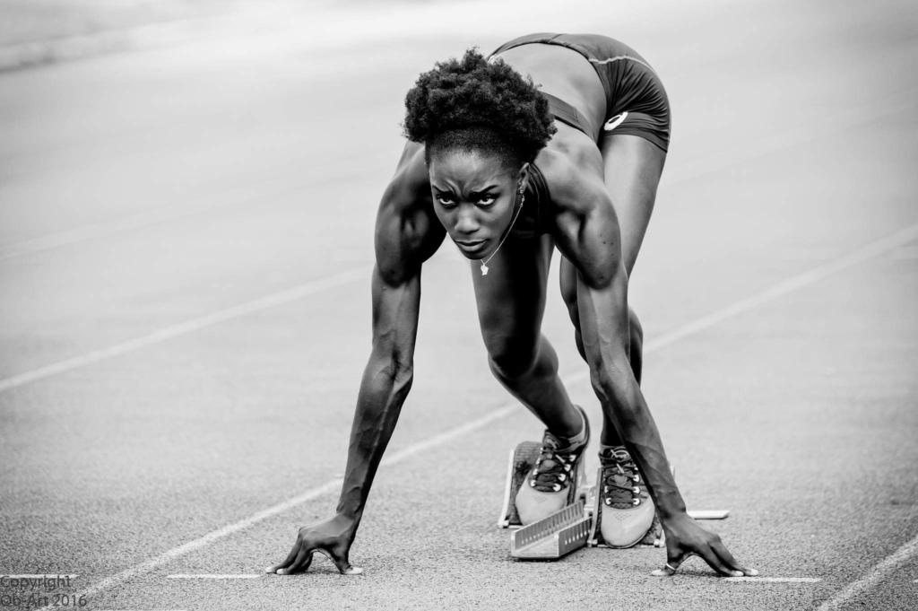 Edith Doekoe, sportif de l'université de Guyane. © ob-art