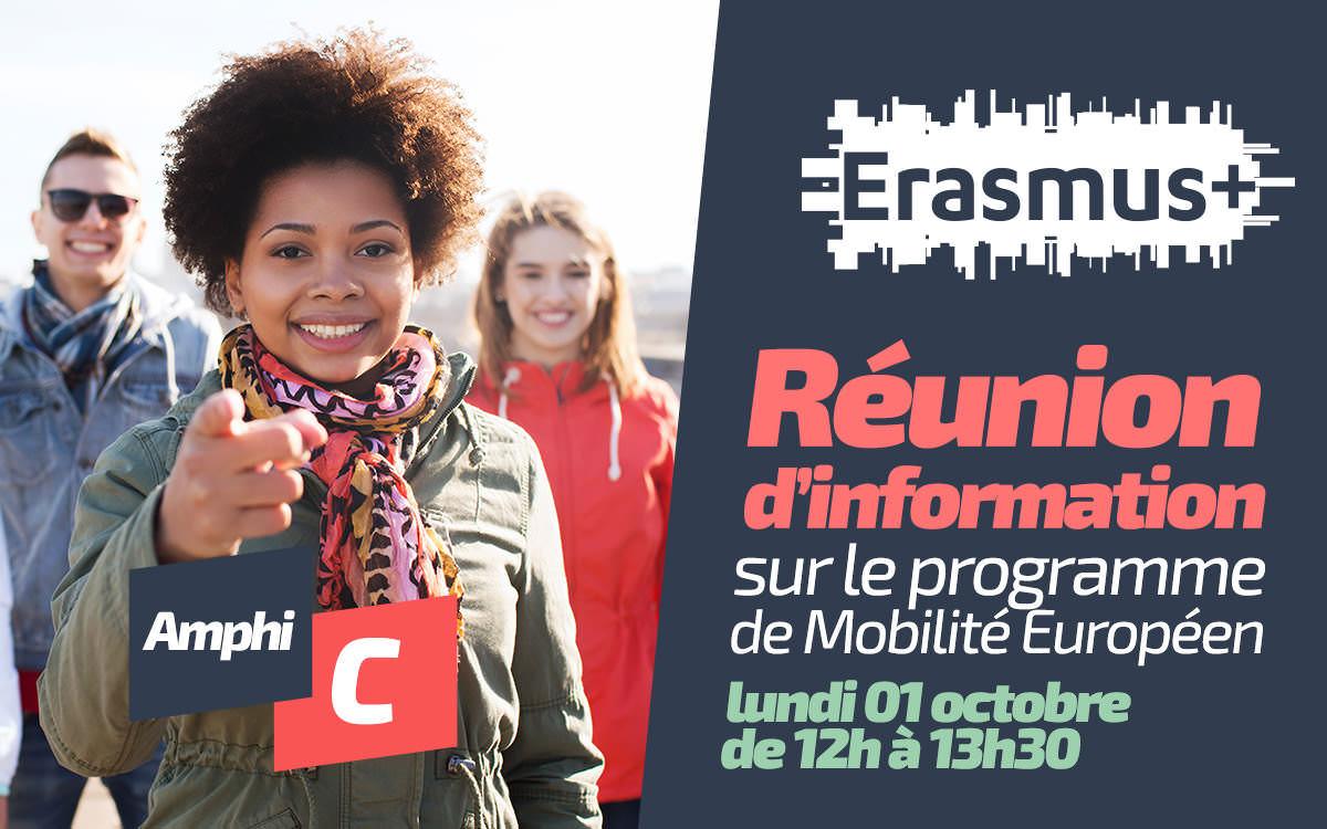 Erasmus+ une expérience à l'international