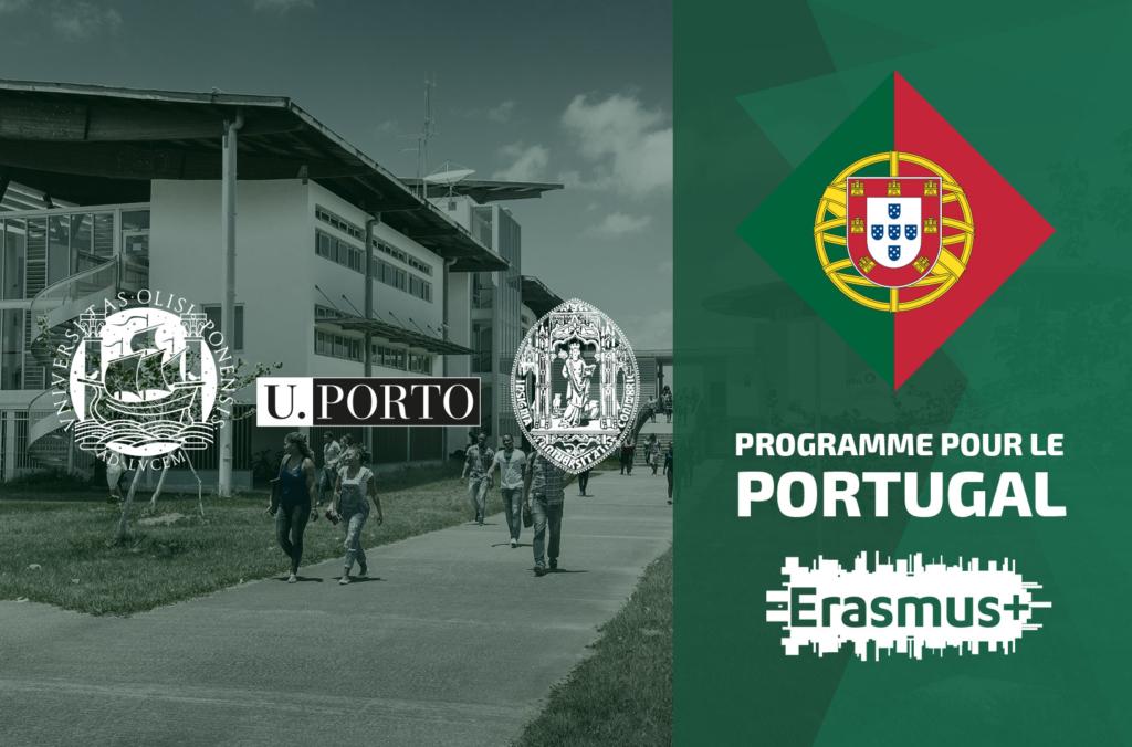 Le Bureau des Relations Internationales de l'Université de Guyane vous convie à une réunion d'information sur le programme mobilité d'ERASMUS. À cette occasion : le Portugal est à l'honneur.