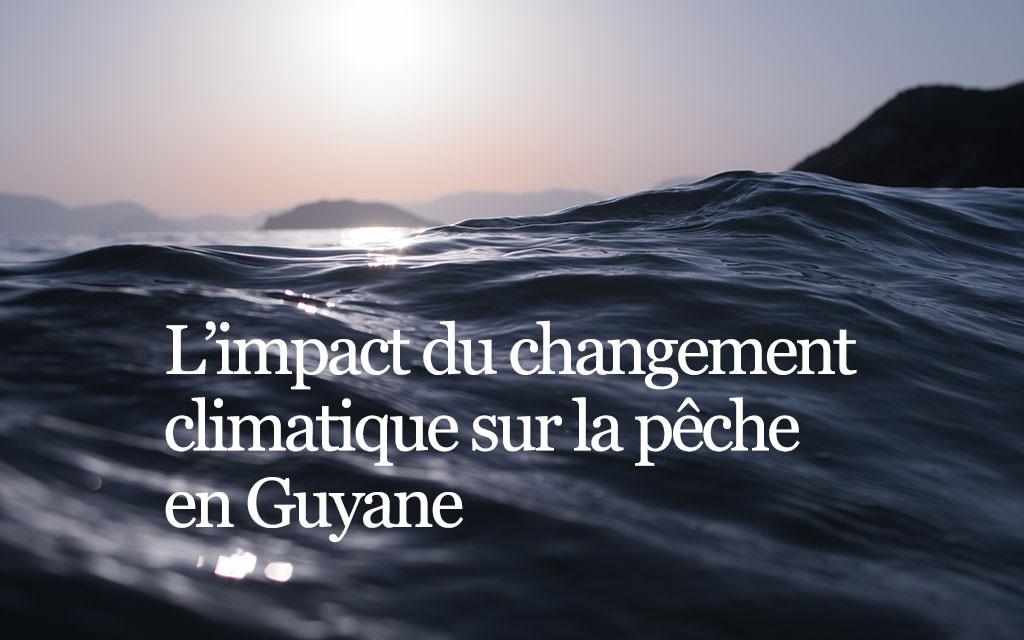 Conférence sur l'impact du changement climatique sur la pêche en Guyane