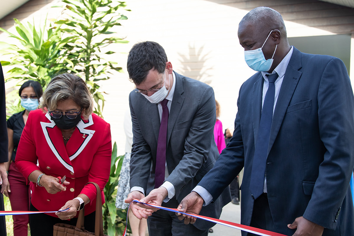 Inauguration de l'extension de l'IUT de Kourou