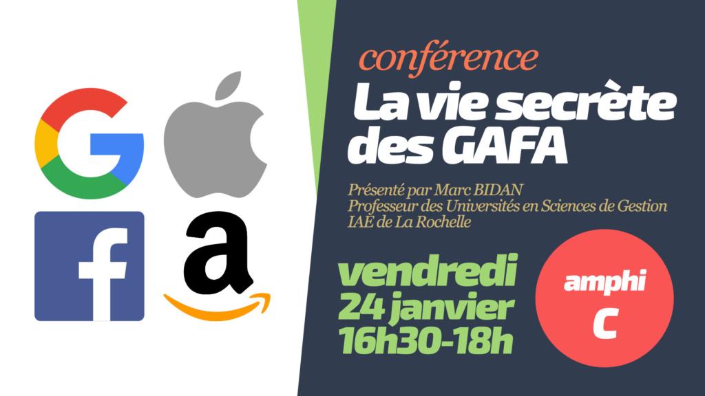 la vie secrete des GAFA conférence