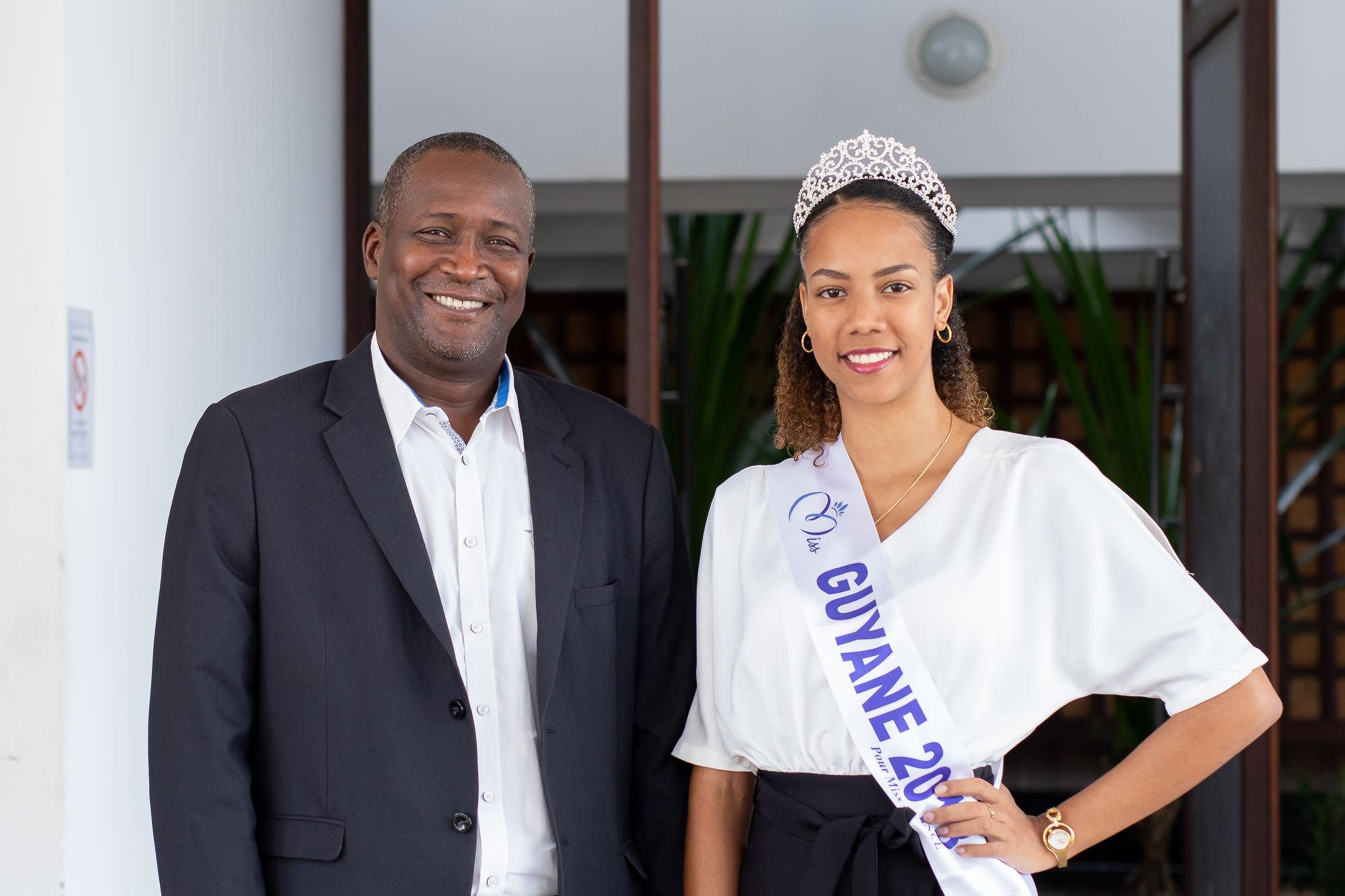 Laureline – de la vie d'étudiante à celle de Miss Guyane