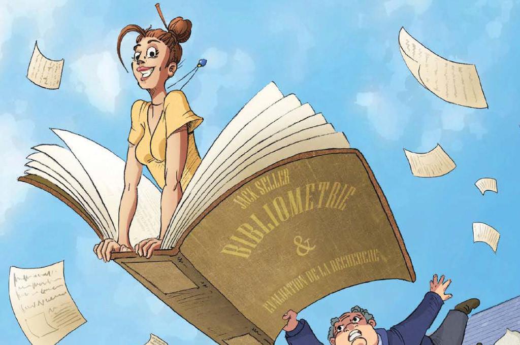 Le SCD crée une bande-dessinée pédagogique sur la bibliométrie et l'évaluation de la recherche