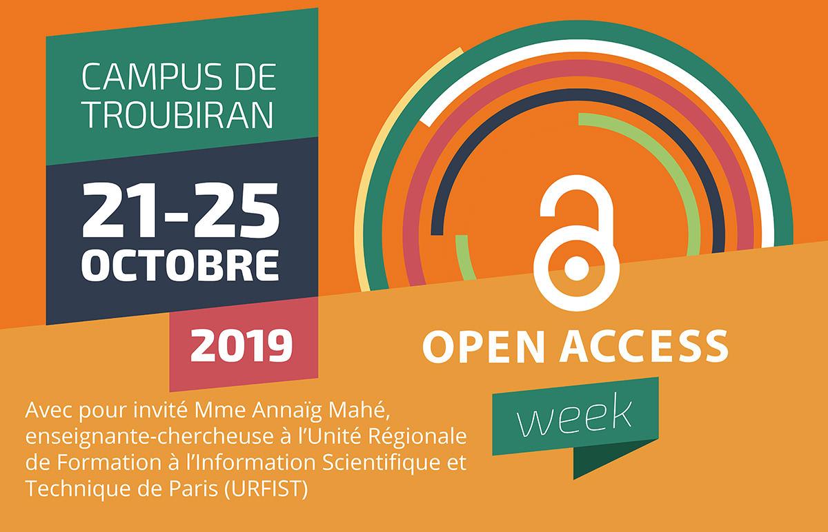 Troisième édition de l'Open Access Week