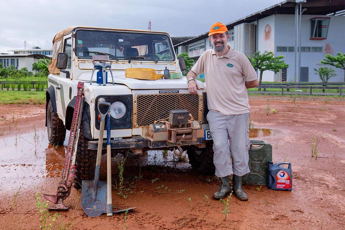 Thierry – à la découverte du Rallye des Savanes