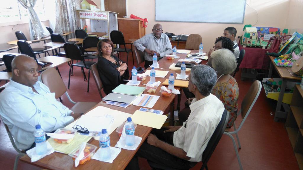 Prémices d'une convention avec l'université du Guyana