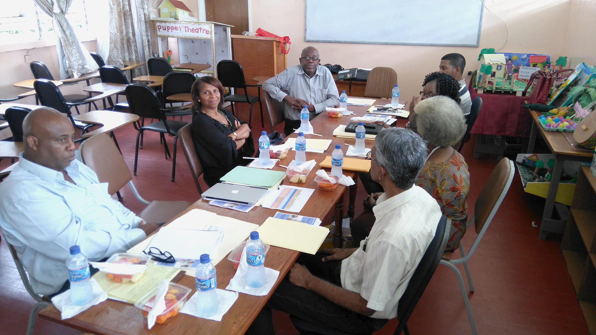 Visite à l'université du Guyana, les prémices d'une convention