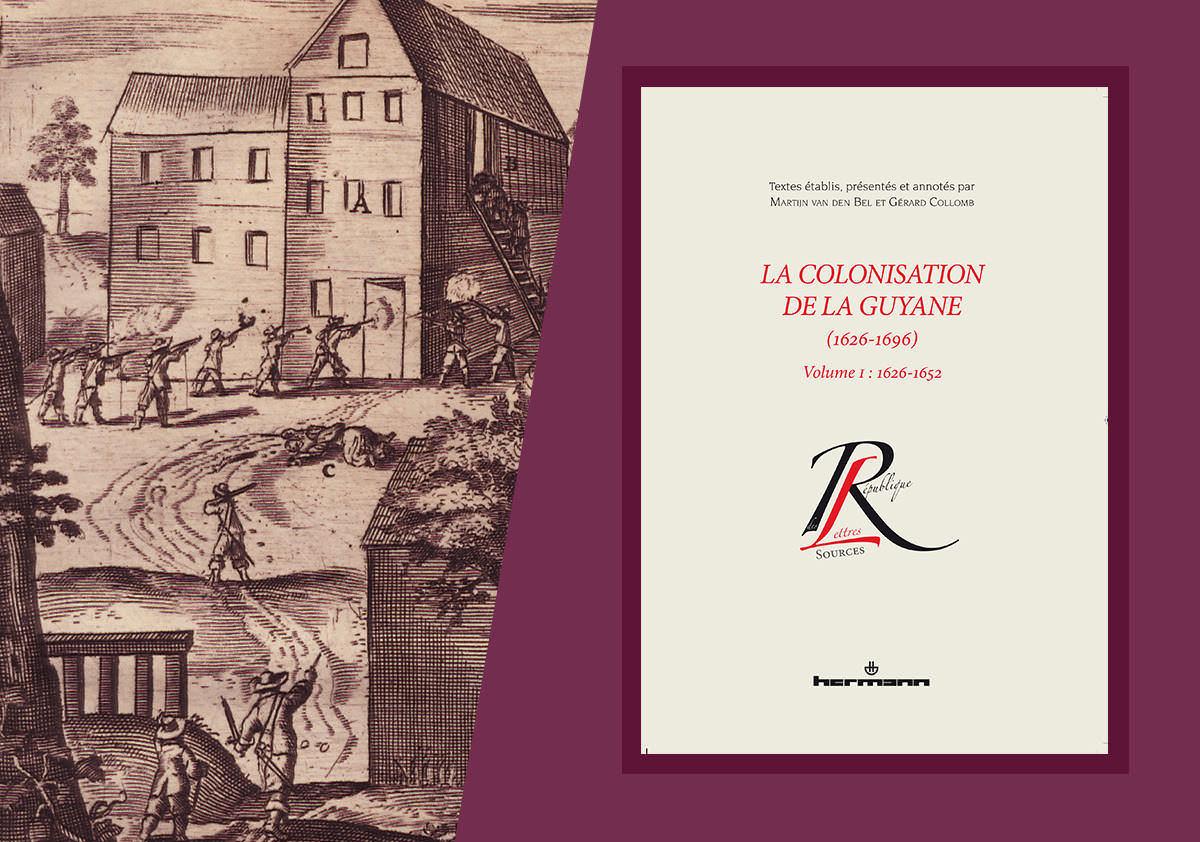 Présentation de l'ouvrage « la colonisation de la Guyane »