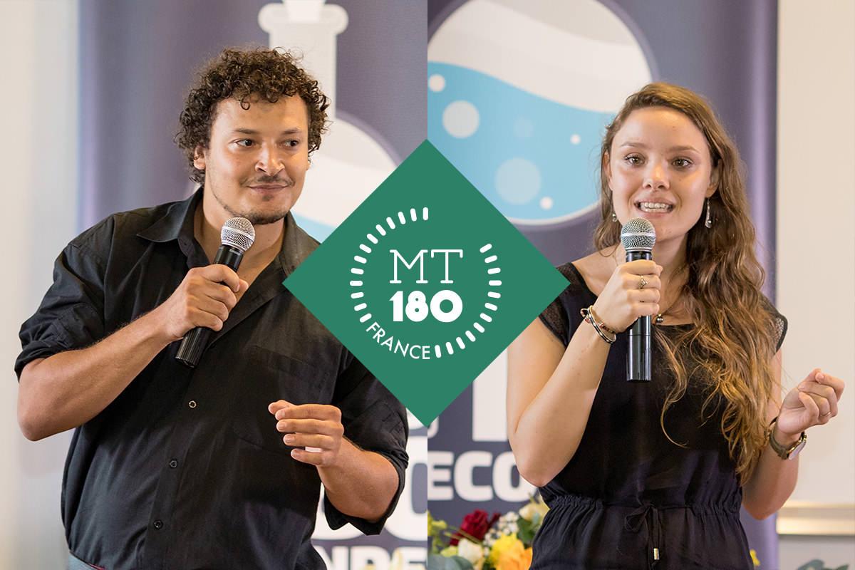 Agathe et Michel gagnants du concours régional MT180S