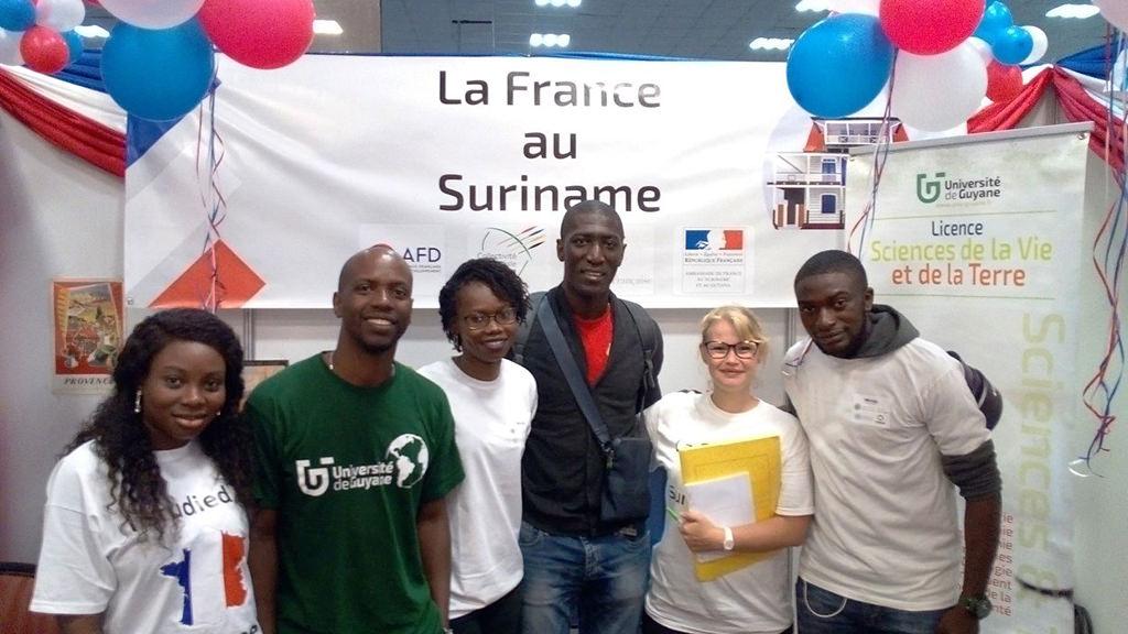 L'Université de Guyane à l'International «Scholarship Fair»2018