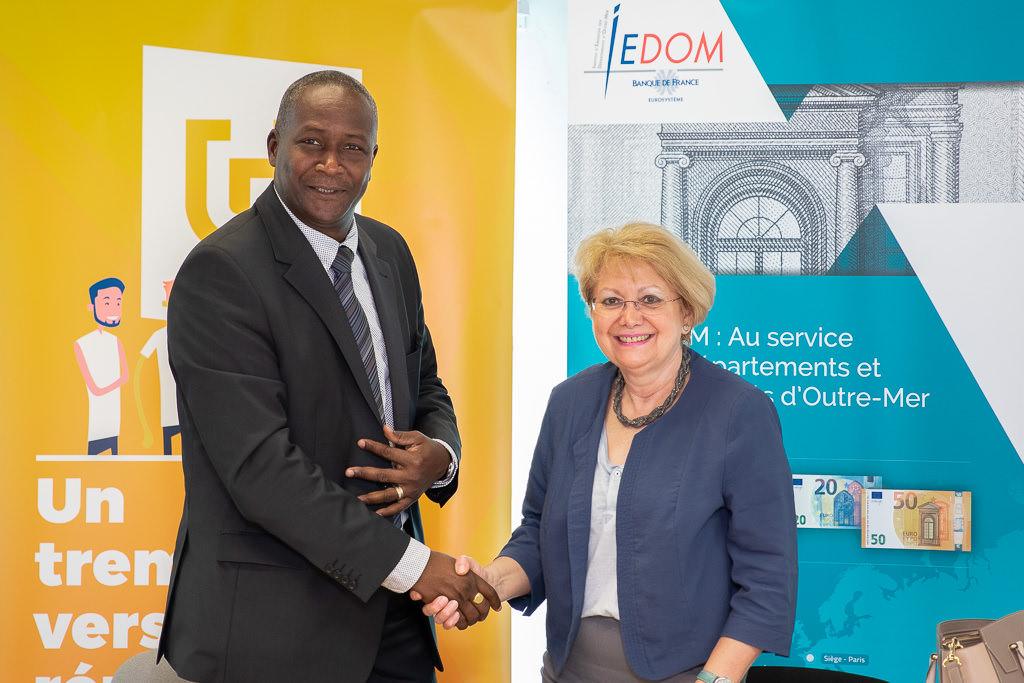 Signature de la convention de partenariat entre l'IEDOM et l'Université de Guyane