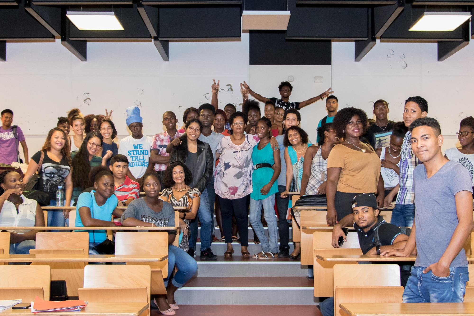 Visite d'une délégation de l'Université Anton de Kom, Suriname