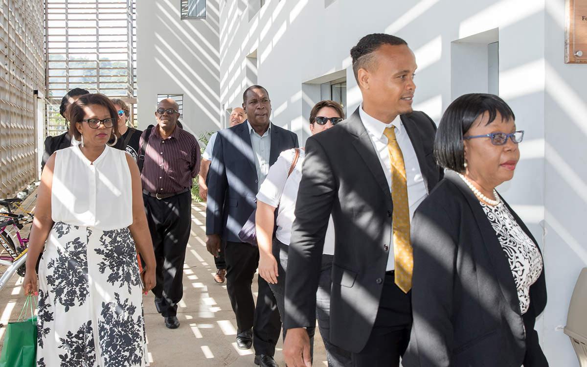 Visite d'une délégation officielle de l'université du Guyana